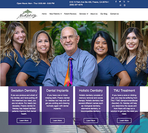Fresno Dentist Web Design