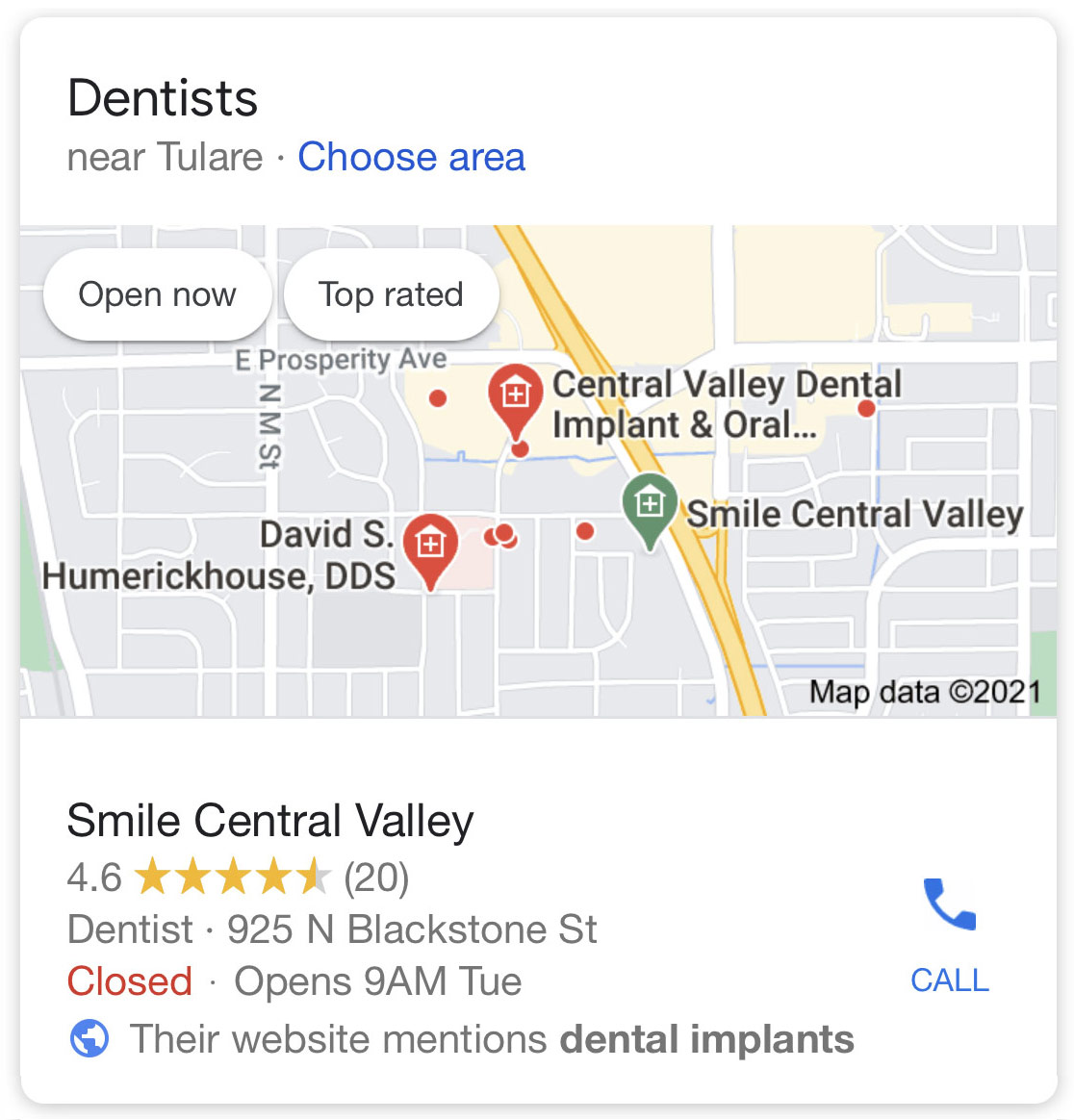 Google Local SEO Bay Area